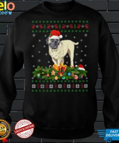 Family Matching Xmas Lighting Ugly English Mastiff Christmas Tank Top