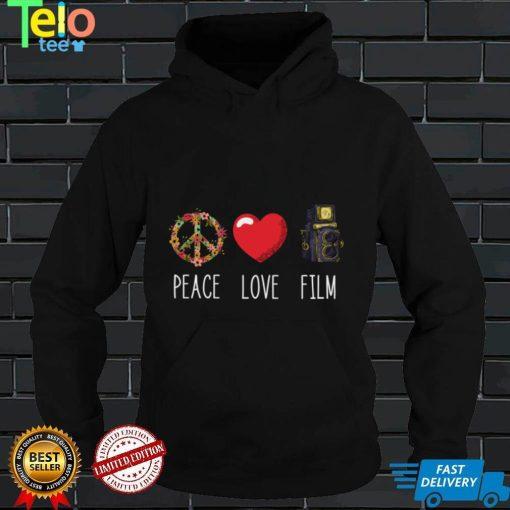 Filmmaker Love Peace Film Film Producer Videographer Long Sleeve T Shirt