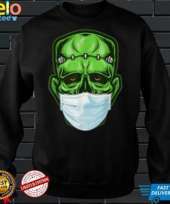 Funny Monster Zombie Mask Simple Halloween Costume 2020 T Shirt