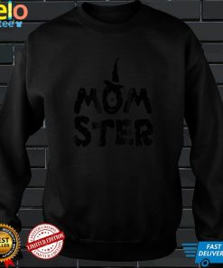Funny halloween momster T Shirt