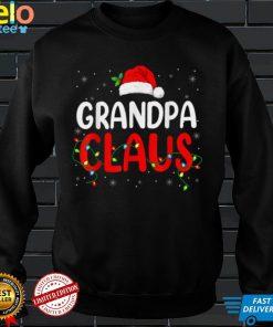 Grandpa Claus Christmas Santa Lover Matching Family Group T Shirt
