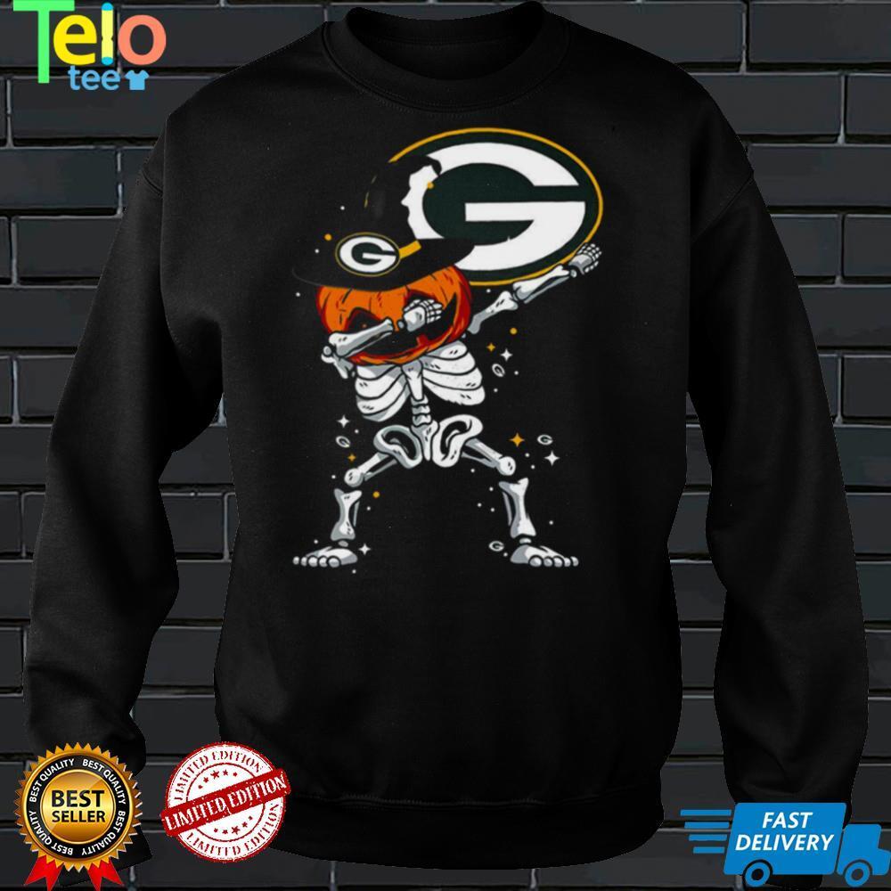 Green Bay Packer Skull Halloween Shirt