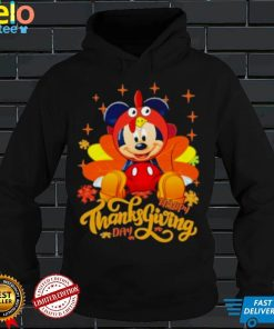 Happy Thanks Giving Day Mickey Mouse Autumn Shirt