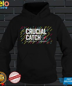 Houston Texans 2021 Crucial Catch Intercept Cancer T Shirt