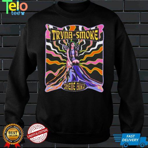 Jhene Aiko Tryna Smoke Vintage Shirt