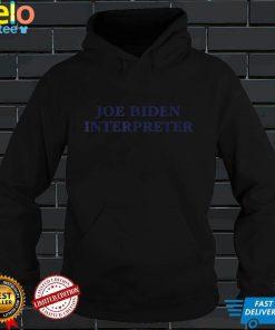 Joe Biden Interpreter Funny Halloween Costume Shirt 2020 T Shirt
