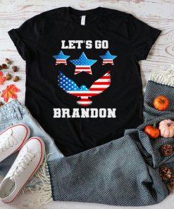 Lets Go Brandon Chant FJB Eagle US Flag shirt