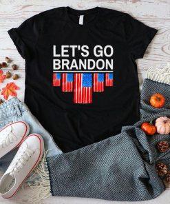 Lets go brandon Joe Biden chant impeach 46 us flag shirt
