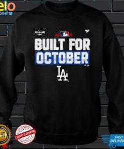 Los Angeles Dodgers Built For October 2021 Postseason Shirt