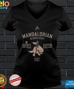 Mandalorian Blurrg Rider Star Wars shirt
