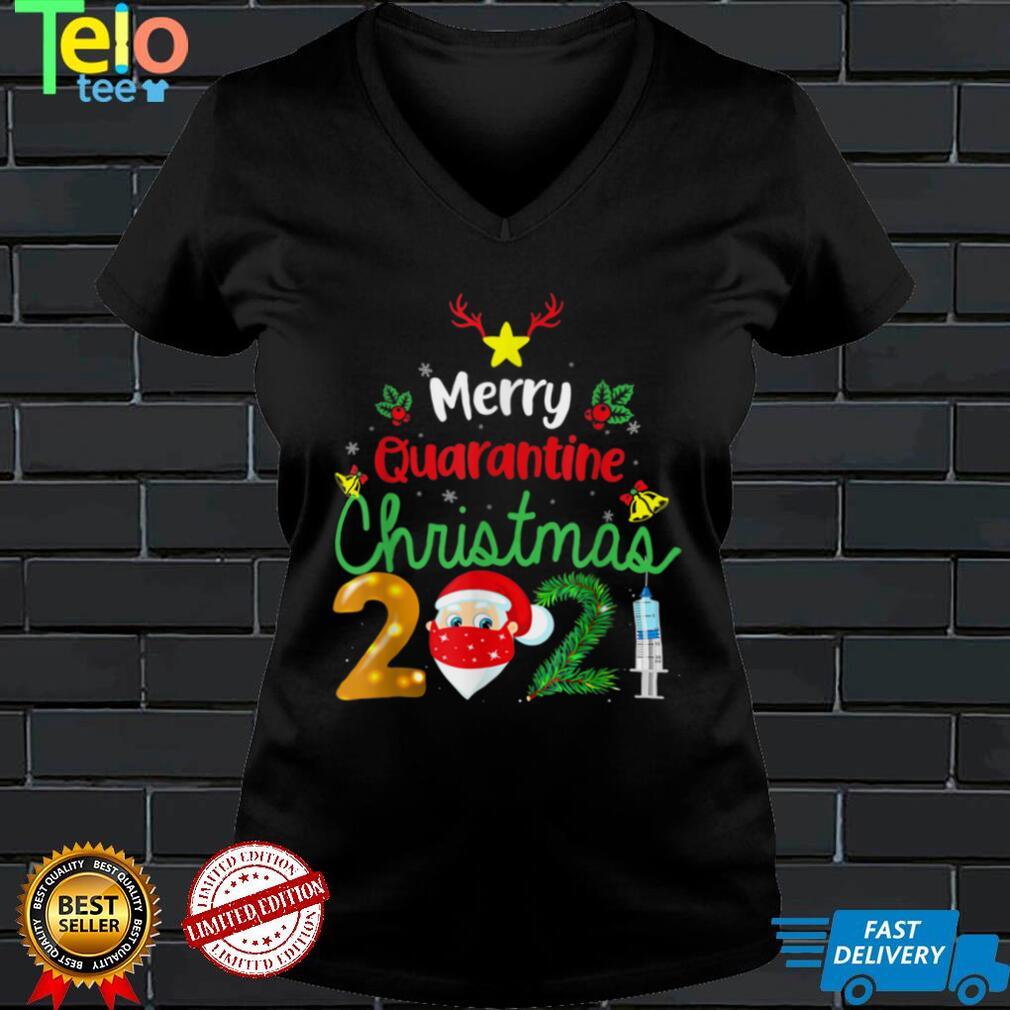 Merry Christmas 2021 Reindeer Funny Pajamas Family Xmas T Shirt (7)