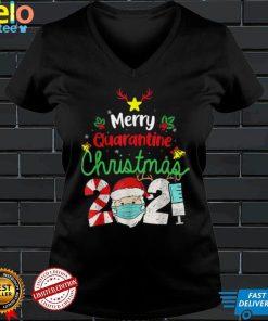 Merry Christmas 2021 Reindeer Funny Pajamas Family Xmas T Shirt (8)