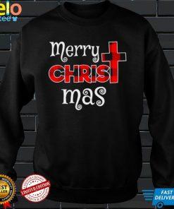 Merry Christmas Buffalo Plaid Shirt