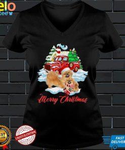 Merry Christmas Funny Santa Pekingese Dog Lover Christmas T Shirt