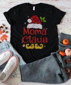 Official Moma Claus Funny Santa Christmas Pajama Family Matching T Shirt