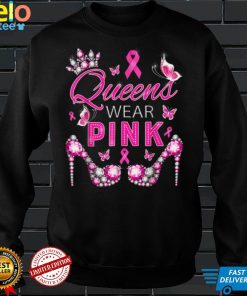 Queen Wear Pink Breast Cancer Awareness T Shirt