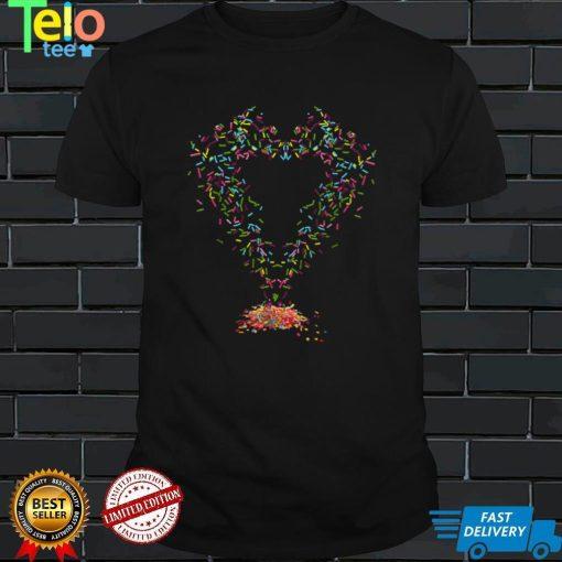 Rainbow Sprinkles Ice Cream Halloween Cupcake Lazy Costume T Shirt