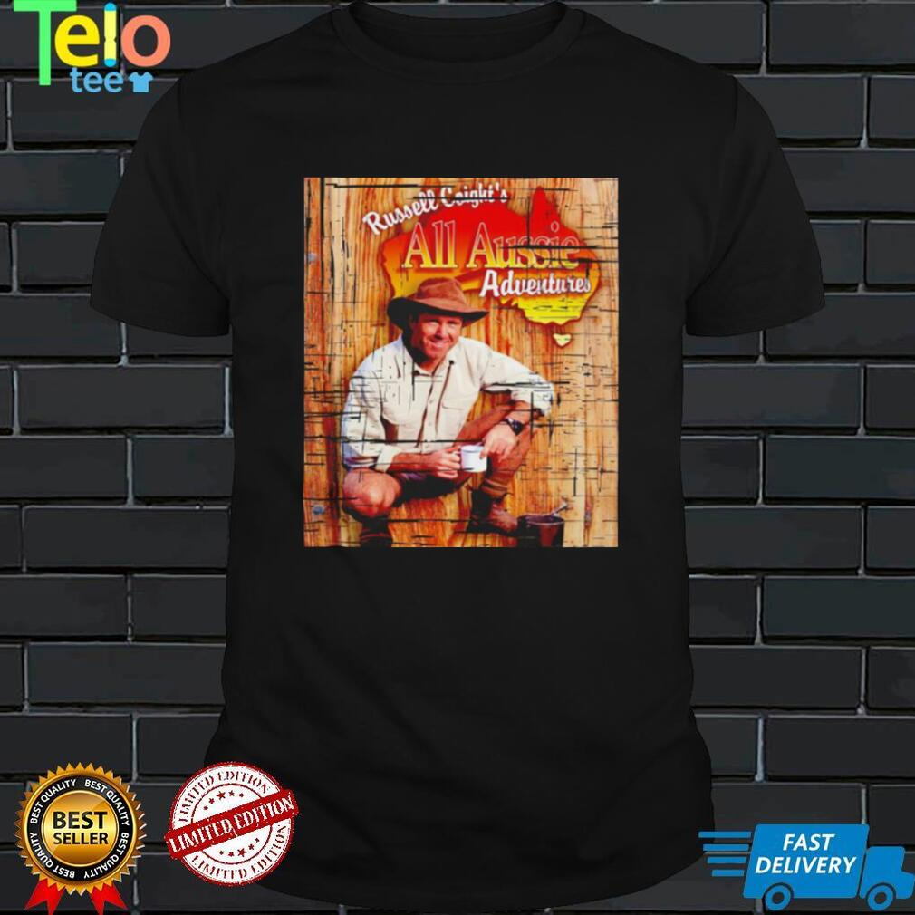 Russell Coight comedian shirt