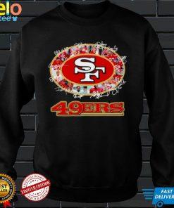 San Francisco teampler Football signatures 2021 shirt