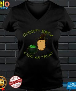 Scary Witch Chicken Nugget Dipping Sauce Halloween Costume T Shirt
