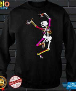 Skeleton dancing after party shirt