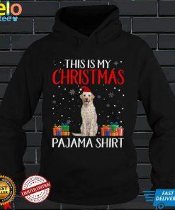 This Is My Labrador Dog Christmas Pajama Santa Lights T Shirt