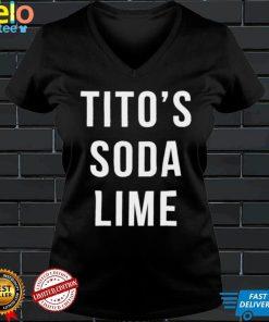 Titos soda lime shirt