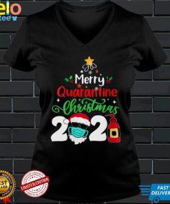 Womens Merry Christmas 2021 Reindeer Funny Pajamas Family Xmas V Neck T Shirt (3)