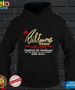 the Biltmore Terrace Miami Beach shirt